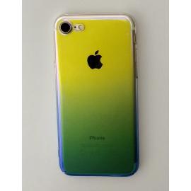 Obal / kryt na iPhone 7 / 8 plus - olejová modrá