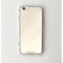 Obal / kryt na iPhone 6/6S plus - zrcadlový stříbrný