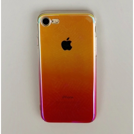 Obal / kryt na iPhone 7 / 8 plus - olejová růžová