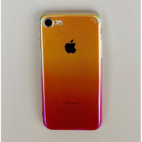 Obal / kryt na iPhone 6 / 6S  plus - olejová růžová