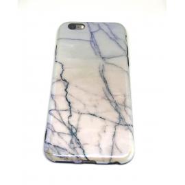 Obal / kryt na iPhone 6 / 6S  - lesklý mramor