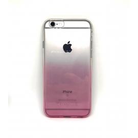 Obal / kryt na iPhone 7/8 Rainbow (duha růžová)