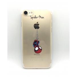 Obal / kryt na iPhone XR silikonový spiderman