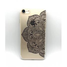 Obal / kryt na iPhone XR  silikonový  mandala