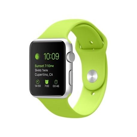 Sport pásek pro Apple Watch 42/ 44mm - zelený