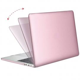 """MacBook Pro 2016 13""""  Obal Růžový Pogumovaný"""