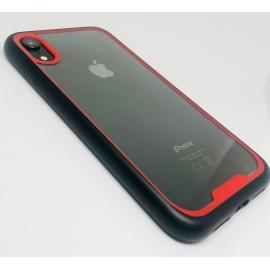 Obal / kryt na iPhone XS- ochranný červený