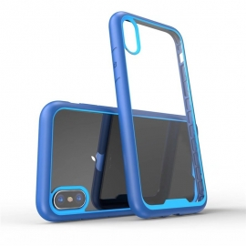 Obal / kryt na iPhone XS- ochranný modrý