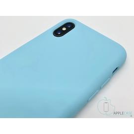 Obal / kryt na iPhone XS - tyrkysový