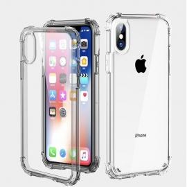 Obal / kryt na iPhone XS  - ochranný  transparentní