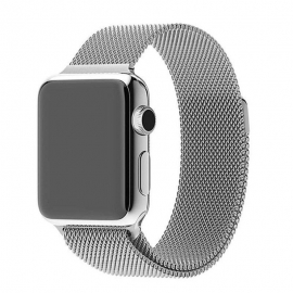 Ocelový pásek pro Apple Watch- 38/40 mm- silver