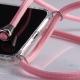 Obal na krk iPhone X- pink