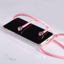 Obal na krk iPhone X- pink