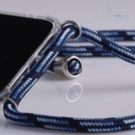 Obal na krk iPhone X - blue