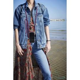 Obal na krk Iphone XR- claret