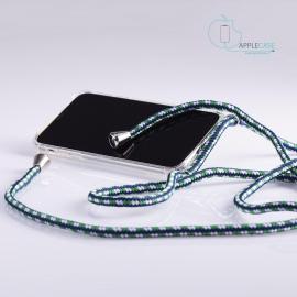 Obal na krk iPhone XR - white/blue/green