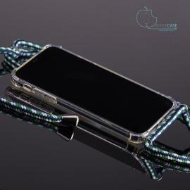 Obal na krk iPhone XS max - white/blue/green