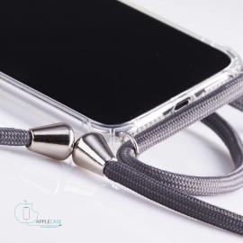 Obal na krk Samsung Galaxy S10- grey (silver metal)
