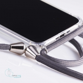 Obal na krk Samsung Galaxy S10E- grey (silver metal)