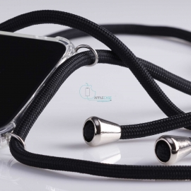Obal na krk Huawei P20 - black (silver metal)