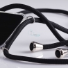 Obal na krk Huawei Nova 3 - black (silver metal)