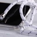 Obal na krk Huawei Nova 3 - white (silver metal)