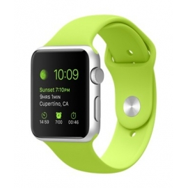 Sport pásek pro Apple Watch 38mm - zelený