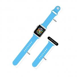 Sport pásek pro Apple Watch 42mm - modrý