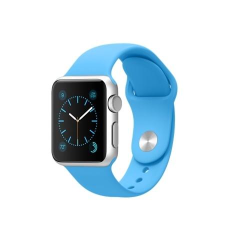 Sport pásek pro Apple Watch 38mm - modrý
