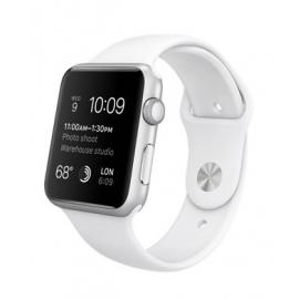 Sport pásek pro Apple Watch 42mm - bílý