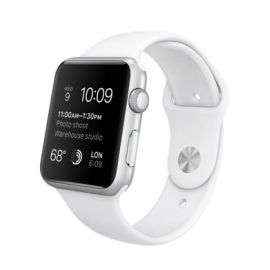Sport pásek pro Apple Watch 38mm - bílý
